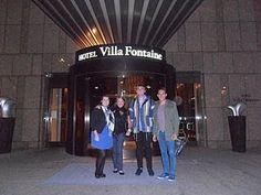 Roberto, Helen, Liam & Corinne. Fan Trip 5 - Tokyo, Japan