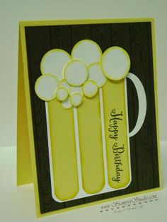Stampin' Studio: I'll have a Beer!