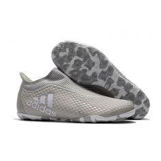 new style 95059 a2c81 футбольные бутсы Adidas X Tango 17 Purespeed IC Серый белый
