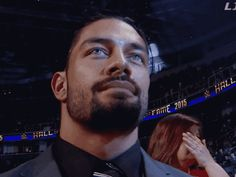 Oh what's that sound? It's just me falling to the floor, fainting from Roman Reigns' sexiness!
