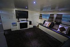 Interior of the Samudra Biru Mentawais #Yacht Charter