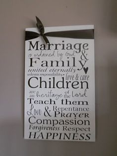 Family Proclamation Sign this next to one of the temple of choice. Lds Family Proclamation, Proclamation To The World, Best Toddler Toys, Best Kids Toys, Marriage And Family, Happy Marriage, Family Subway Art, Child Teaching, Families Are Forever