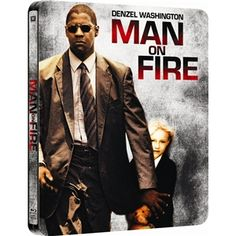 Man On Fire: Play.com Exclusive Steelbook Edition Double Play (Blu-ray)