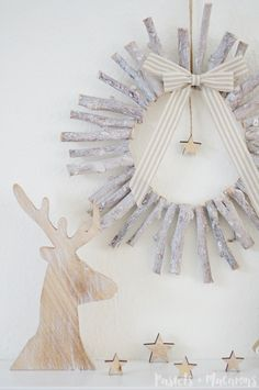 I'm super excited to be posting this DIY on the blog today! I created this DIY Rustic Wood Christmas Wreath for my gorgeous blogger friend Kristi over at Making It In The Mountains as a guest post and now I have the opportunity to share the full tutorial with you guys here on the blog! I...Read More »