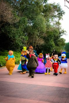 Disney Characters by abelle2, via Flickr
