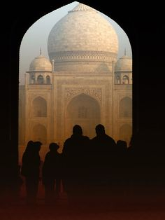 Love, instrument for the most beautiful building, Taj Mahal by Bosta Sever