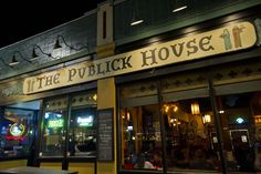 Publick House - Washington Square, Brookline - for nearly 200 different types of beer, many of them of Belgian and German origin.