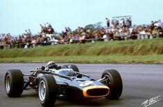 1967 GP Wielkiej Brytanii (Silverstone) J. Stewart (BRM P83)