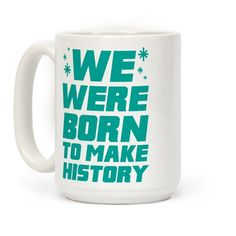 This anime mug is perfect for fans of Yuri, Victor and all the other cute figure skating men, because we were born to make history! Be weeaboo proud with this yuri on ice mug, perfect for fans of anime, otaku, history maker and yuri on ice merch.