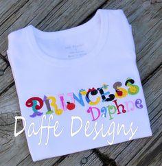 Disney princess shirt