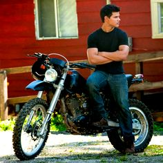 I don't even like motorcycles, but I'd ride on that with him.