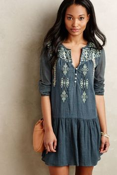 Lassen Tunic Dress - anthropologie.com #anthrofave