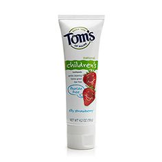 Toms of Maine Silly Strawberry Fluoride-Free Children's Toothpaste