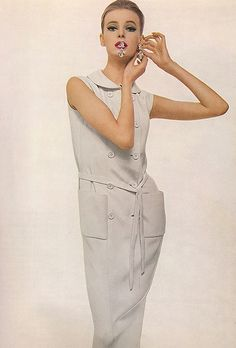 Wearing Norman Norell, photo by Richard Avedon, 1961 by dovima_is_devine_II, via Flickr