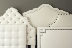 Custom Upholstered Headboards. Image: calicocorners.com #custom_decorating #bedrooms