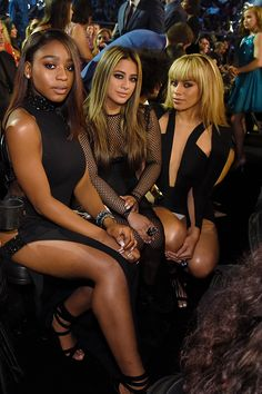 Fifth Harmony attend the 2016 MTV Video Music Awards on August 28, 2016 in New York City.