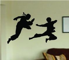 Check out this item in my Etsy shop https://www.etsy.com/listing/163065699/kung-fu-decal-sticker-wall-boy-girl-teen