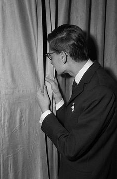 Yves Saint Laurent, 1958.