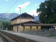 Railway station Bad Goisern, Austria