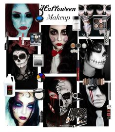 """""""Halloween makeup"""" by nataliesmall ❤ liked on Polyvore featuring beauty, Chanel, Urban Decay, Bobbi Brown Cosmetics, Maybelline, Mary Kay, Lipstick Queen, MAC Cosmetics, NARS Cosmetics and FACE Stockholm"""