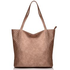 KISS GOLD(TM) Womens Top Handle Bags Hobo Shoulder Bags Shopping Handbags, European Style * Continue to the product at the image link. (This is an affiliate link) Large Crossbody Bags, Crossbody Shoulder Bag, Shoulder Handbags, Shoulder Bags, Canvas Handbags, Women's Handbags, Garment Bags, Nylon Bag, Leather Handle