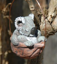 Hey, I found this really awesome Etsy listing at https://www.etsy.com/listing/128589397/sleeping-koala-ornament