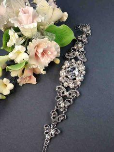 Etsy Bracelet Link Bracelets Making Swarovski Crystals