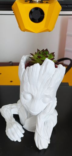 Baby groot Baby Groot, Impression 3d, Planter Pots, Life, 3d Printing