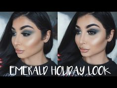 """EMERALD SMOKEY HOLIDAY LOOK I Nina Vee - YouTube GLOW @ofracosmetics Rodeo Drive highlighter use """"NINAVEE"""" 30% off #ofracosmetics  https://www.ofracosmetics.com/collections/bronzers-marbles-shimmers-stripes/products/rodeo-drive-highlighter"""
