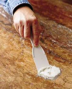 How to Remove Stains from Kitchen Countertops - This Old House Cleaning Granite Counters, Kitchen Countertops, Get Rid Of Spots, Remove Oil Stains, Oxalic Acid, Acid Stain, Marble Polishing, Dishwashing Liquid, Coffee Staining