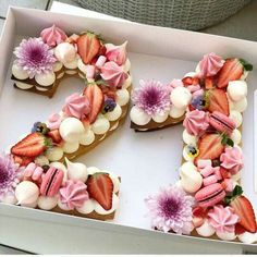 Cake ideas for a 21st.  Floral inspired.