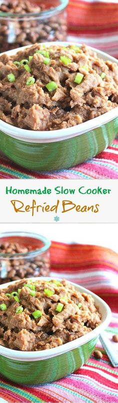 Refried Beans Homema