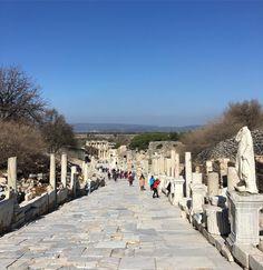 Street of Curetes in #Ephesus ancient city #Turkey