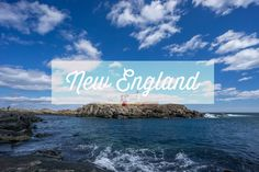 Lighthouse of the coast of Maine