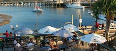 The Murrells Inlet MarshWalk is always a popular choice for folks looking for a great view while they're dining out. Here's the Top 11 waterfront restaurants near Myrtle Beach, South Carolina.