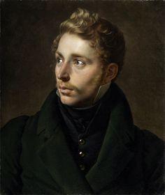 Anne-Louis Girodet de Roussy-Trioson, Portrait of Jacques Joseph de Cathileneau