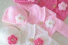 Coat crochet for kids – CROCHET PATTERN
