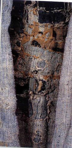 Stitch and Tickle: Boro: Rags and Tatters from the Far North of Japan; beautiful colours and fabric. Textile Texture, Textile Fiber Art, Shibori, Sculpture Textile, Boro Stitching, Japanese Textiles, Clothing And Textile, Shoe Art, Art Shoes