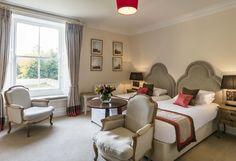 Luxury Twin Bedroom #robertparkercollection #eshotthall   #luxury #northumberland #alnwick #hotel  #countryside #luxurytravel Wedding Venues Uk, Luxury Travel, Countryside, Twin, Bedroom, House, Furniture, Home Decor, Decoration Home
