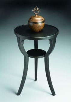 Butler Black Licorice End Table Model