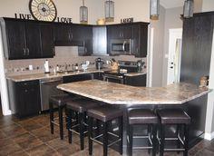 Kitchens - Pedersen Cabinet Works Ltd. Kitchens, Cabinet, Table, Furniture, Home Decor, Clothes Stand, Homemade Home Decor, Kitchen, Home Kitchens