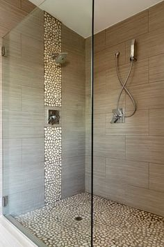 Small Bathroom Designs With Shower Only 20 amazing bathrooms with wood-like tile | modern shower, woods