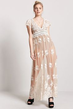 FOREVER 21+ Embroidered Maxi Dress at Forever 21  ad  0cff807d0