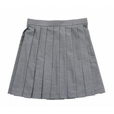 Rakuten - G - ■ Teens Ever Solid pleated skirt uniform school uniform... ❤ liked on Polyvore featuring skirts, bottoms, bottoms - skirts and shorts and skirts