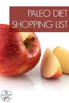 Thought about going Paleo, but had no idea where the heck to start? Here's a great shopping list to get you started! | Fit Bottomed Girls