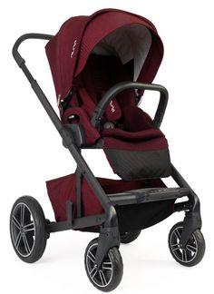 Nuna Baby Mixx2 Forward Rear Facing Single Stroller Berry w Rain Cover Mixx 2