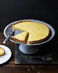 French Lemon Tart. In this classic citrus tart, the lemony custard is poured into the baked tart shell, so there's no need to worry about an undercooked crust or a curdled filling.