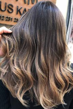 We have collected our favorite balayage hair styles. Choose the one that works best for your skin tone, style and personality! #haircolor #brownbalayage