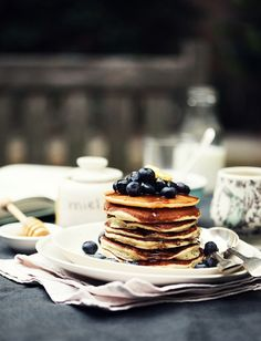 :: Blueberry Pancakes  | More foodie lusciousness here: http://mylusciouslife.com/photo-galleries/wining-dining-entertaining-and-celebrating/