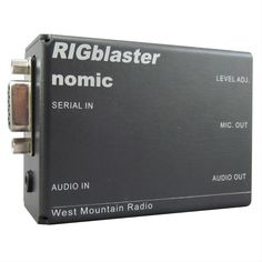 West Mountain Radio RIGblaster Nomic Digital Mode/Rig Control Interfaces are small, simple, rugged, and inexpensive sound card interfaces--perfect for portable use or temporary setups such as Field day or DX-peditions Find West Mountain Radio RIGblaster Nomic Digital Mode/Rig Control Interfaces RB/NO/CUSB and get Free Standard Shipping on orders over $99 at DX Engineering! Audio In, Ham Radio, Rigs, Engineering, Mountain, Digital, Simple, Free, Technology